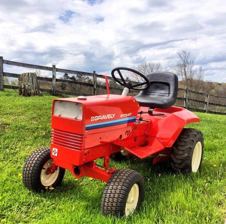 1965 Gravely 4 Wheel Tractor : Bästa bilder om lawn mowers på pinterest trädgårdar