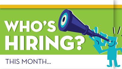 Jobs Monster: Companies hiring in April