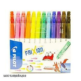 Fixky gumovacie Colors Frixion Pilot
