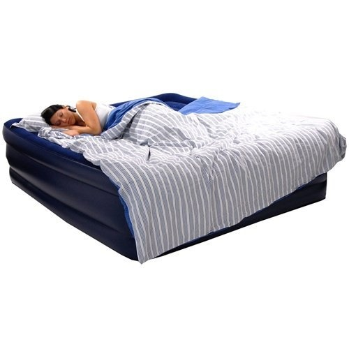Smart Air Beds Deluxe Comfort Top Raised Flocked King Size Bed