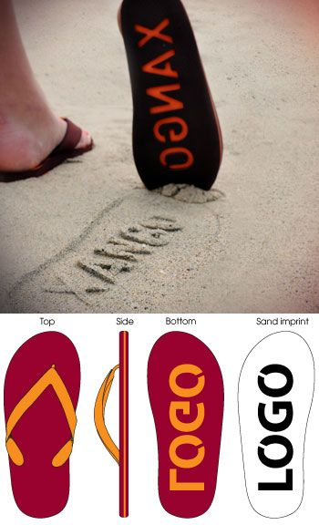 Neet Feet Custom Sandals - Promotional Products Supplier