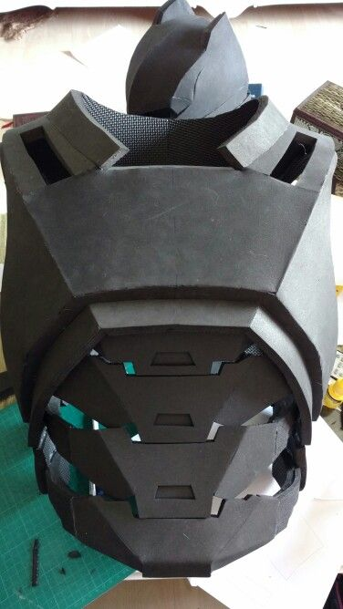 Batman torso Armor almost ready  #batman #batmanvssuperman #doj #dawnofjustice