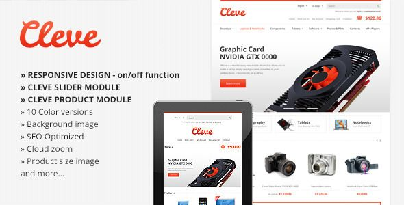 This Deals Cleve Modern & Responsive OpenCart Themetoday price drop and special promotion. Get The best buy