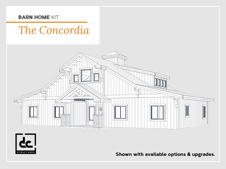Wood barn home kits are uniquely long lasting structures that are not only designed for durability, but are a beautiful addition to any property.