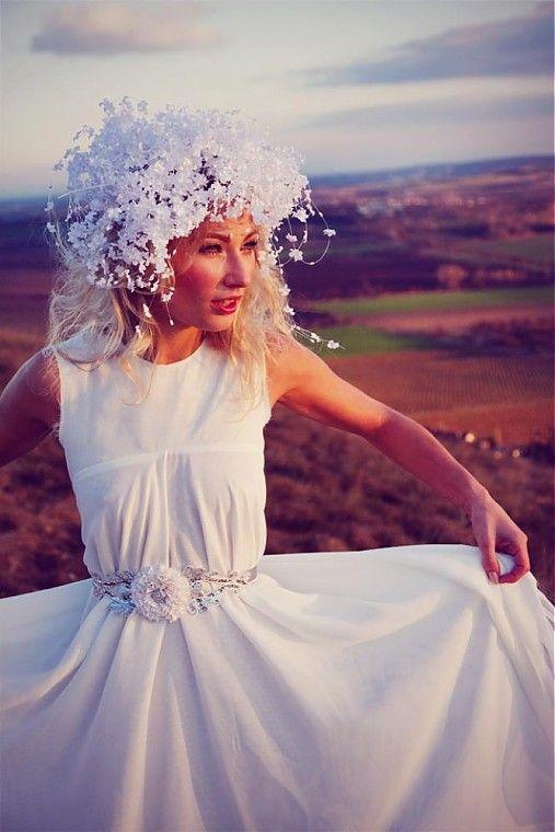 Svatební pásek Luxury Bride  by Samodiva - SAShE.sk - Handmade Opasky
