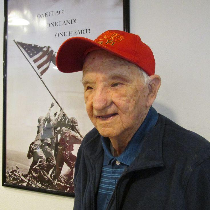 George Briede, a scout-sniper attached to Company A, 1st Battalion, 9th Regiment, 4th Marine Division, was fighting his way up Mount Suribachi during the Battle of Iwo Jima in the Pacific in World …