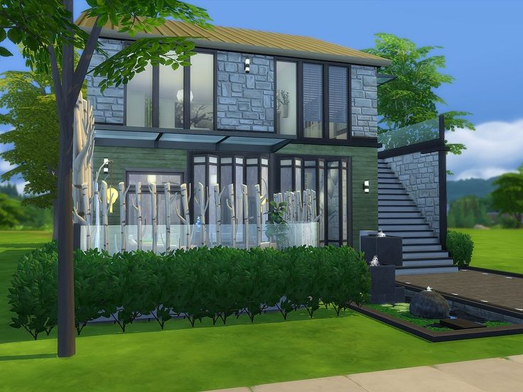 112 best sims4 images on Pinterest Sims, The sims and Homes - sims 3 wohnzimmer modern
