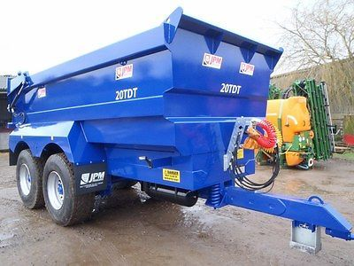 New JPM 20 Tonne Dump Trailers For Sale Plant Aggregate Rubble Tippe