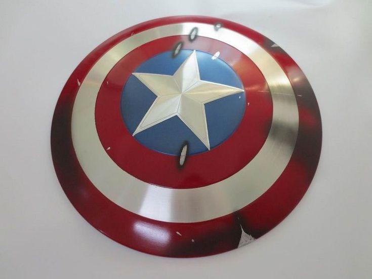 Captain America Damaged Shield #cosplay