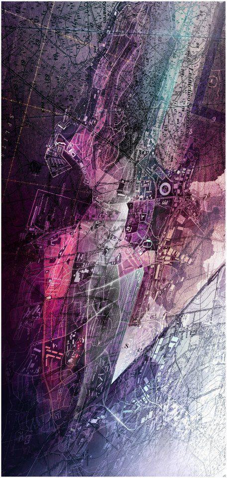 AUTONE - Urban planner who makes his maps look like art pieces ! Amazing ! http://autone.pl/DigitalUrbanGraphics