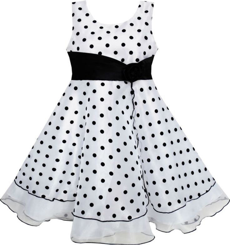Girls Dress Black White Dot Tulle Party Pageant 4-12 | UNUM CLICK - Online Shopping for Electronics, Fashion, Home & Garden, Toys & Sports, Health & Beauty and more