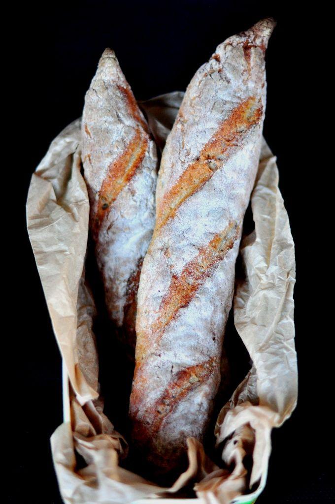 Gluten-free sourdough baguette