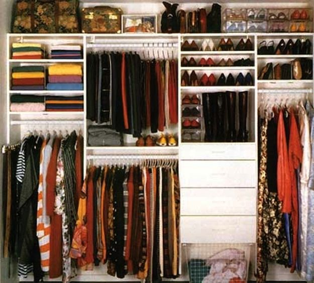 "This is what ""The Organizer's"" closet looks like. 