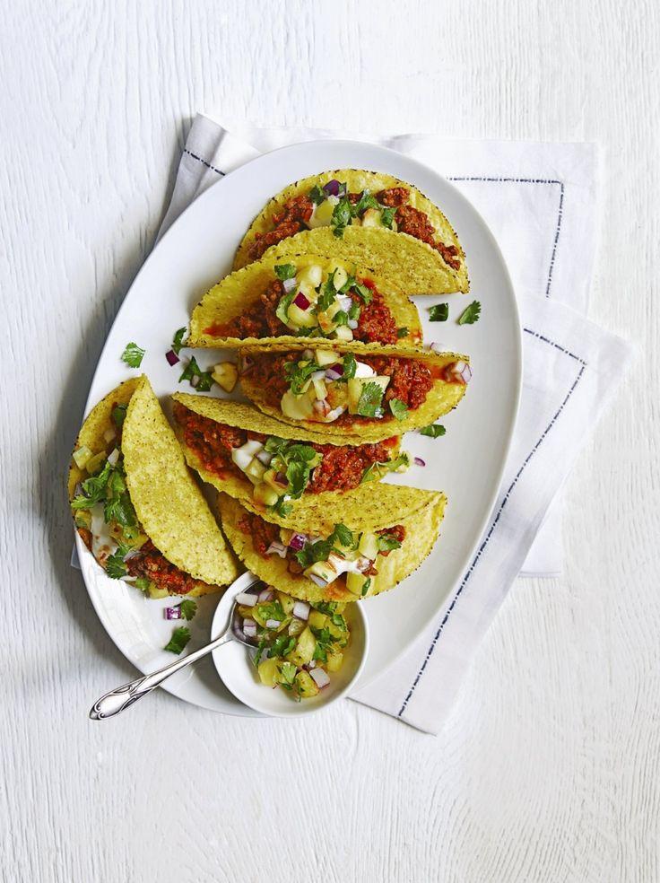 Tacos mexicains au porc
