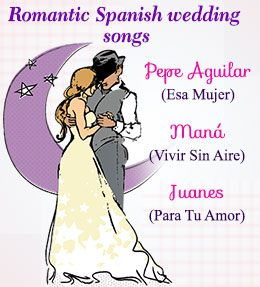 Spanish Wedding Songs                                                                                                                                                                                 More