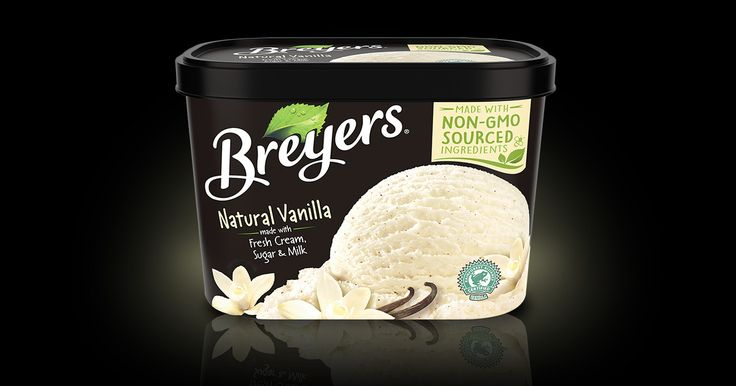 Bring out the natural flavors in fresh fruit pies, cobblers and crisp Alwith America's favorite vanilla -- Breyers(R) Natural Vanilla.& Has No Corn Syrup ! The Best Vanilla Ice Cream EVER! Yummy Foodie!