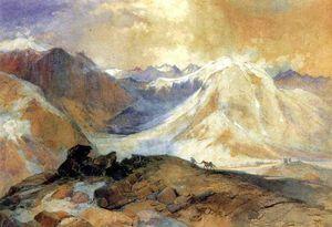 Trail Mosquito, montagnes rocheuses du Colorado - (Thomas Moran)