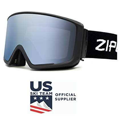 043636b04c24 Ski Snowboard Snowmobile Goggles Zipline Podium CL No Fog Interchangeable Magnetic  Lenses Options US Ski Team Official Goggle Review