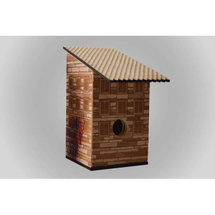 New :: Inner City Bird House (Stone) by N-Product $100