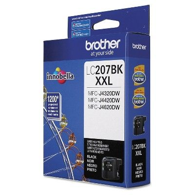 Brother LC207BK Innobella Super High-Yield Ink Cartridge - Black (BRTLC207BK)