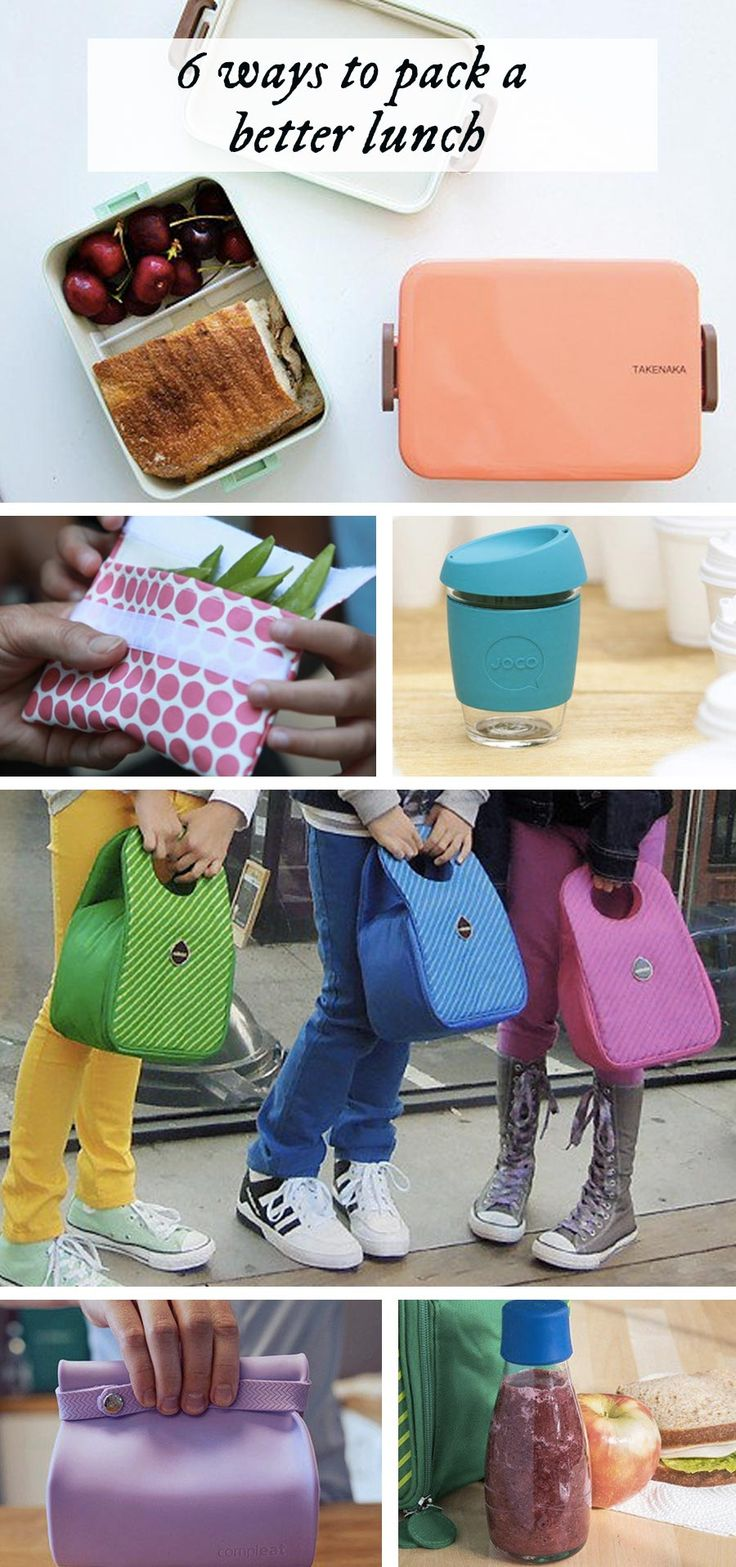 Back to school supplies for the lunch table (at school or at the office).