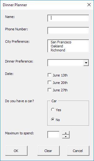 Userform In Excel Vba In 2020 Excel Macros Excel Tutorials Microsoft Excel