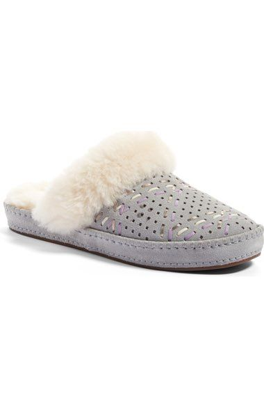 UGG® Aira - Tehuano Genuine Shearling Slipper (Women) available at #Nordstrom
