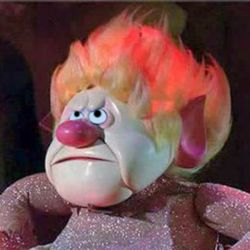 """Heat Miser is a character from the Rankin/Bass 1974 children's television special The Year Without a Santa Claus. Heat Miser is a blustery, quick-tempered brother to Snow Miser. He is depicted as the personification of all the warm weather in the south who battles his brother for control of the world's weather. As he sings in the """"Heat Miser"""" song (""""whatever I touch, starts to melt in my clutch""""), he can melt objects with but a touch and prefers the temperature to be as hot as possible ."""