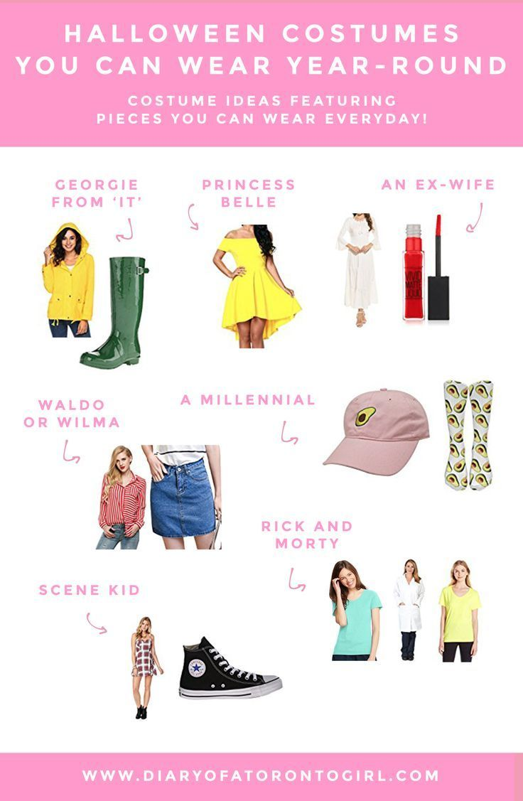 7 Halloween Costumes You Can Wear All Year Round | Fall | Halloween Costume  Ideas | Pinterest | Halloween, Halloween Costumes And Costumes