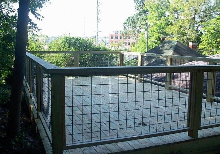 Hog Wire Deck Railing Wire Deck Railing For Balcony The