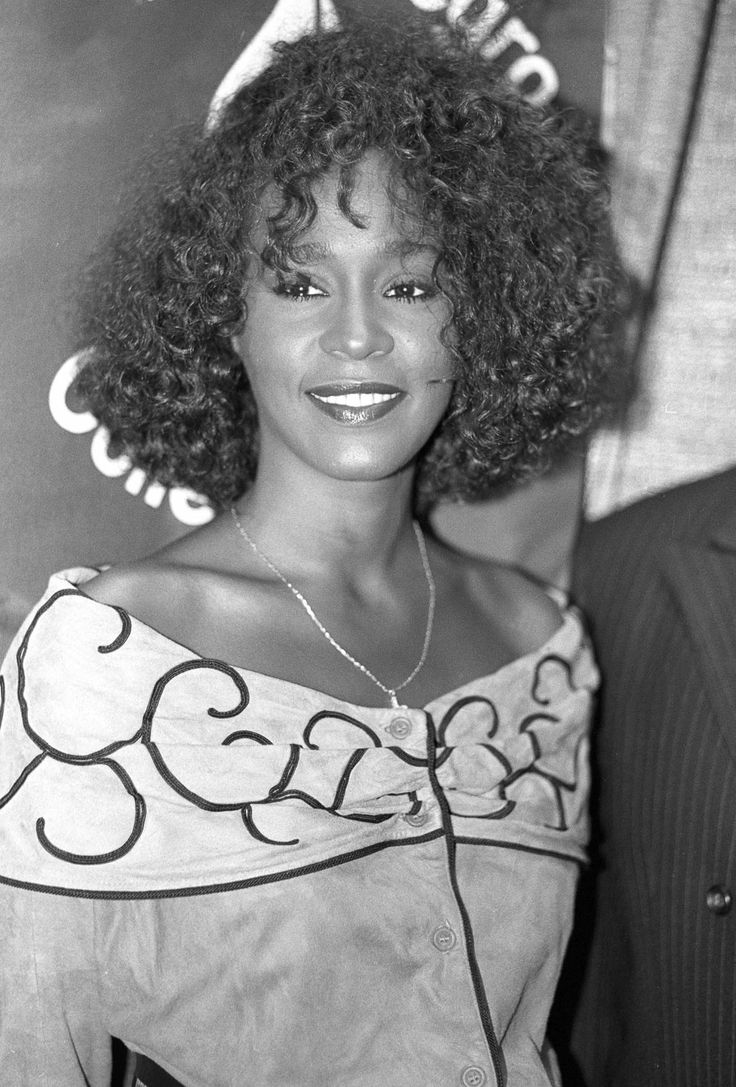 """Whitney Houston (1963-2012). So sad when someone loses their life to drugs. Can't say I have much sympathy, but I can remember what a huge talent she was and dancing with my mom to """"I Wanna Dance With Somebody"""" when I was little. Prayers for her daughter."""