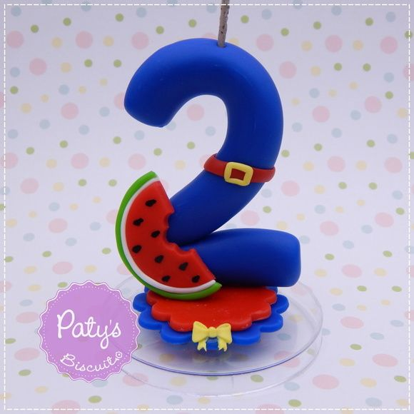 Vela decorada Show da Luna - Festa Infantil - Paty's Biscuit