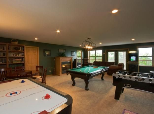 Cool game room idea love this home ideas i crave Basement game room ideas
