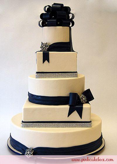 dark+blueweddingcake | Dark Blue Wedding Cake Special Snow Angel