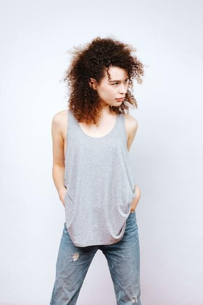 That perfect loose tank - the Senna Tank.