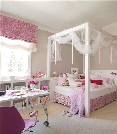 Las 25 mejores ideas sobre habitaciones peque as de ni as - Habitaciones de princesas ...