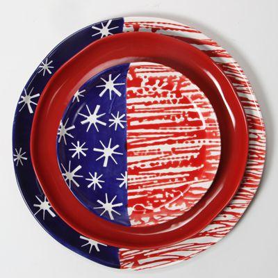 Celebrate the USA - one plate a a time.