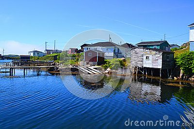 A small fishing community on the south west coast of Newfoundland