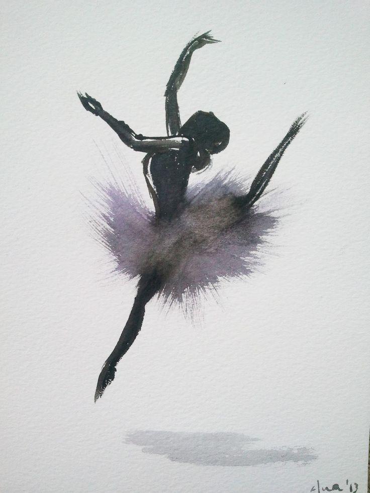 pintarviviramar: Bailarina 1