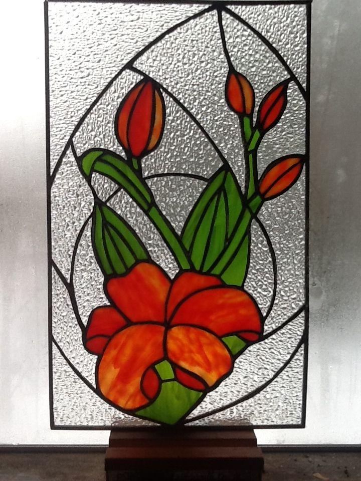 Liljat, tiffany lasityö