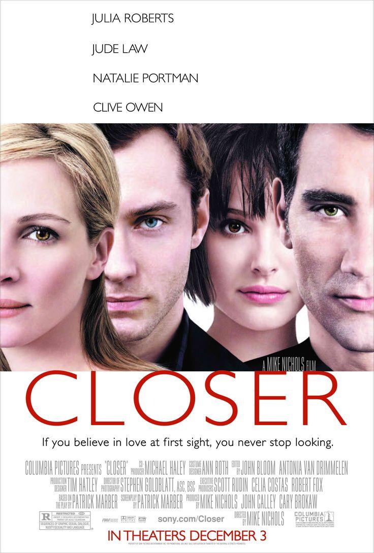"""Closer"" movie poster, 2004."