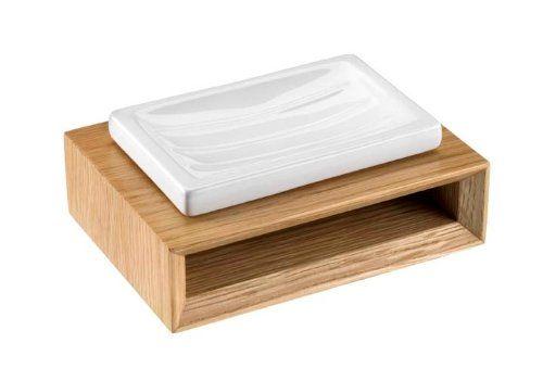 Seifenablage aus hellem Holz. #bright #beauty