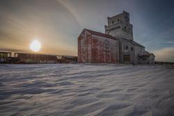 Prelate Patterson Grain Elevator, Saskatchewan Canada