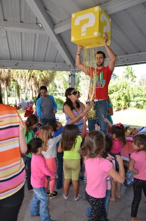 Mario party - Pinata idea !