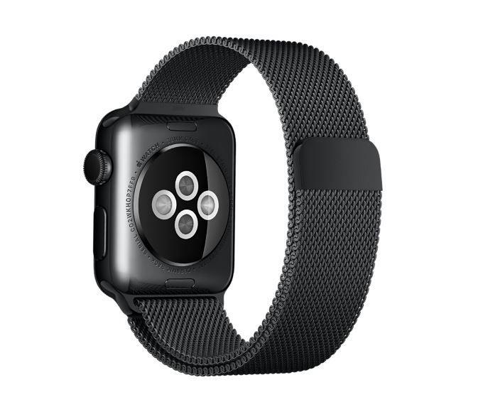 Apple Watch: 42mm Space Black Milanese Loop Armband geleakt - https://apfeleimer.de/2016/01/apple-watch-42mm-space-black-milanese-loop-armband-geleakt - Nachdem der iKonzern gestern bereits zwei neue Watch-Modelle für die chinesischen Märkte geleakt hatte, folgte nun auf der tschechischen Shop-Webseite des iKonzerns ein neues Armband: Dort findet sich nämlich ein Listing eines neuen 42mm Space Black Milanese Loop Armbands. Weltweiter Verkauf od...