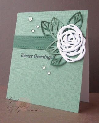 GG Creations: Two Easter Cards