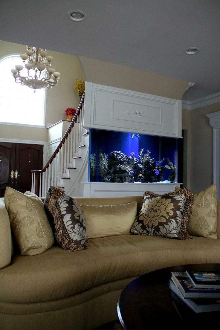 Best Images About Dekoracyjne Akwarium  Aquarium Design On - Home aquarium design
