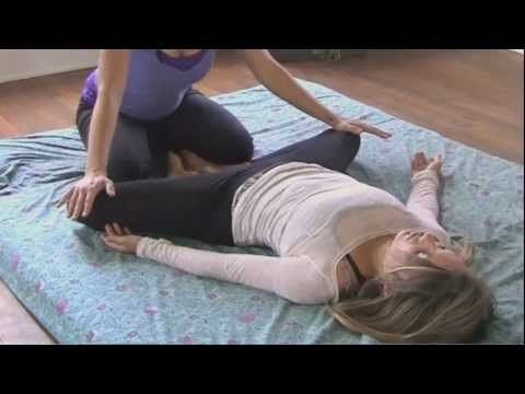 Jen Hilman- Thai Asian Body Massage Therapy How to, Low Back Pain Techniques Sciatica