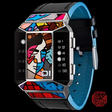 This is one cool looking watch, the design is both unique and stunning. Certainly a conversation starter!!
