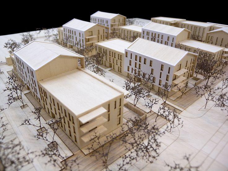 maquette d 39 architecture logements la miolane saint cyr